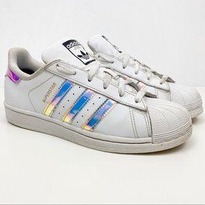 Adidas Superstar Metallic Silver Size 5.5